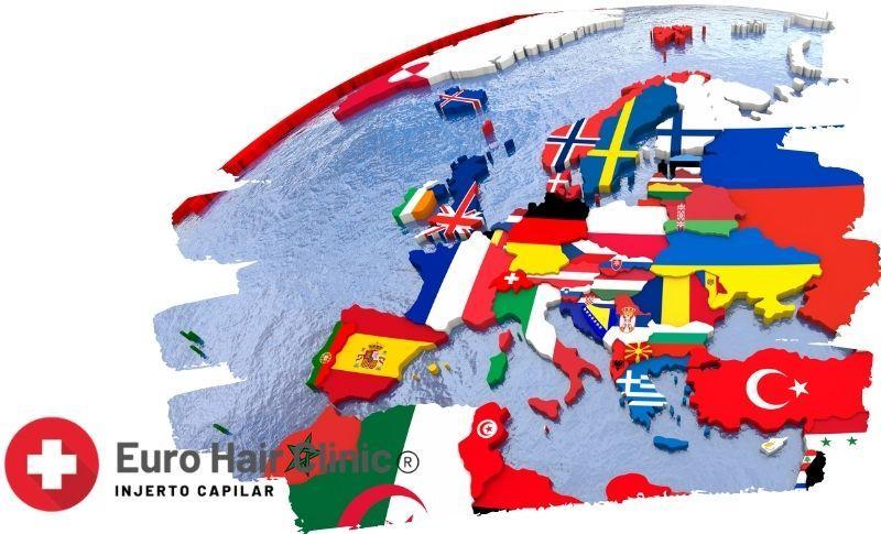 Cuanto cuesta un injerto capilar en Países Europeos?